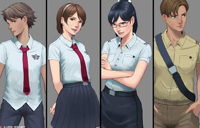 ROTJ cast by SilverTES