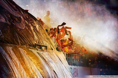football fans by moohra