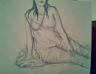 Freehand figure drawing by Ebb-BeL1ke