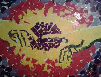 Hand of God Collage by Ebb-BeL1ke