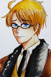 APH - America in Angsty mode by Nih-Nih