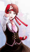 Sakura Kasugano - Street Fighter V by raiderswing