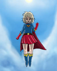 Supergirl by raiderswing
