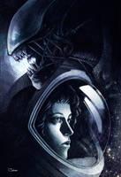 Alien by sashajoe