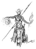 Daily Hero - Mermaid Hunter by saint-max
