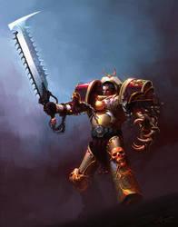 Mikhail Bloodrage - commission by saint-max