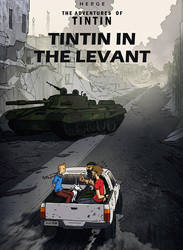 TINTIN in The Levant by saint-max