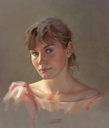 Portrait study #6 by saint-max