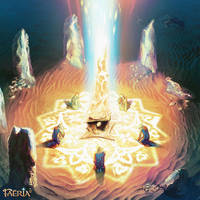Oradrim Prayer ~ Faeria by saint-max