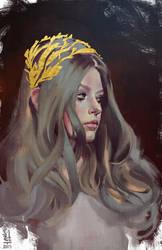 Portrait study #10 by saint-max