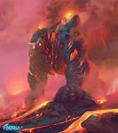Red Colossus ~ Faeria by saint-max