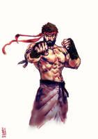 Ryu by saint-max