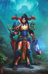 Tlatia True Daughter of The Emperor by saint-max