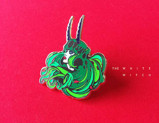 The White Witch: Enamel Pin by saint-max