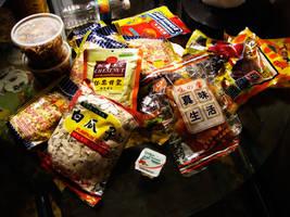 Snacks of China by richardxthripp