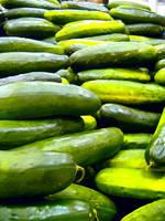Neon Cucumbers by richardxthripp