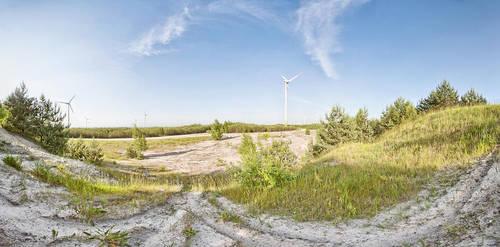 The Windmills' Land by Soczi