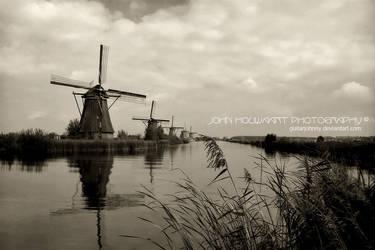 Kinderdijk by guitarjohnny