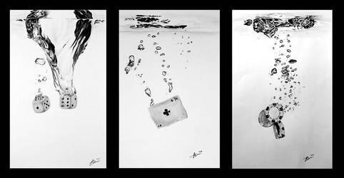 Casino triptych by kornrad