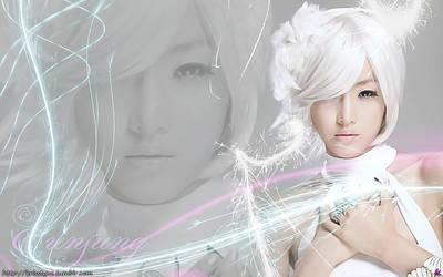 EunJung - pure white by Sweetkrystyna