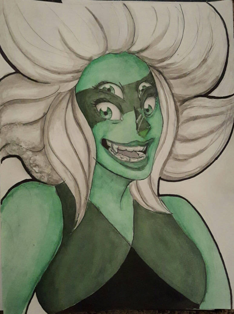 Haven't had time to draw much lately, but here's a Malachite drawing for ya (c) Rebecca Sugar