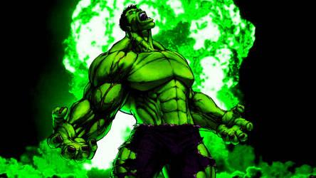 Hulk by Xionice