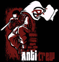 Anti Crew t-shirt design by Lucidflows