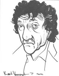 Kurt Vonnegut by Lucidflows
