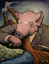 Hungry Pig by Lucidflows