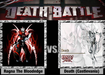 Death Battle Idea - Ragna The Bloodedge Vs Death by Stormtali