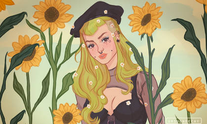 SUNFLOWER by UrsulaDecay