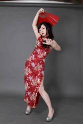 Chinese/Cheongsam girl by kizysem