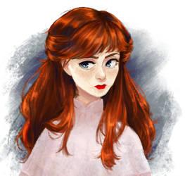 red head by matany-matany