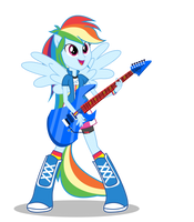 Rainbow Dash by ForgottenPony