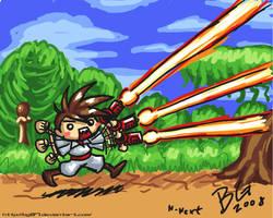 Gunstar Heroes Doodle by BG87