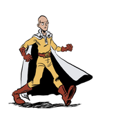 One Punch Man by Tulio-Vilela