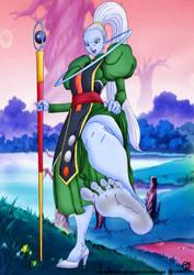 Dragon Ball Super   Vados Foot Tease by DrunkenShinigami