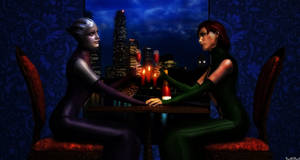 Romantic Evening by BarbDBarb