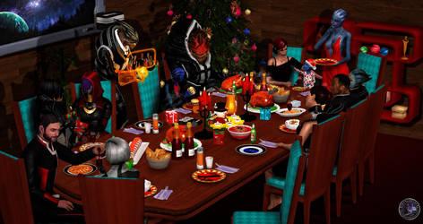 Christmas Eve by BarbDBarb