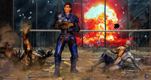Shepard, Some Warning Would Be Nice by BarbDBarb