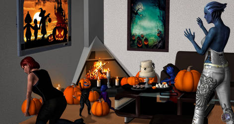 Crazy Halloween by BarbDBarb