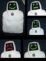 Jailbot Plush by DonutTyphoon