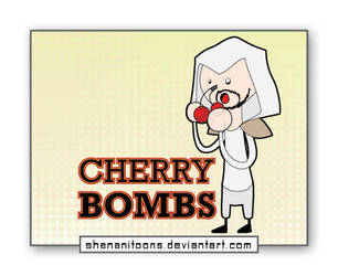 Cherry Bombs by shenanitoons