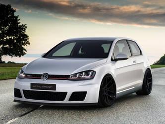 VW Golf MK7 by SrCky