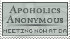 Apoholics Anonymous Stamp II by ClaireJones