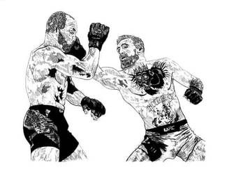 McGregor vs. Alvarez by CEZacherl
