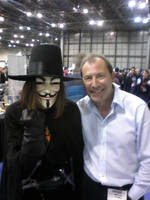 V with David Lloyd. by xD00Rx