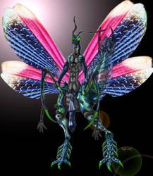 Mantis Laruke by tiffawolf