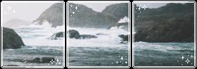 . f2u ocean page decor . by lleafeons