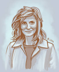 Study: Louise Brealey by TeachingMyselfSpeed